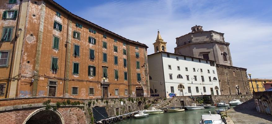 quartiere venezia a Livorno